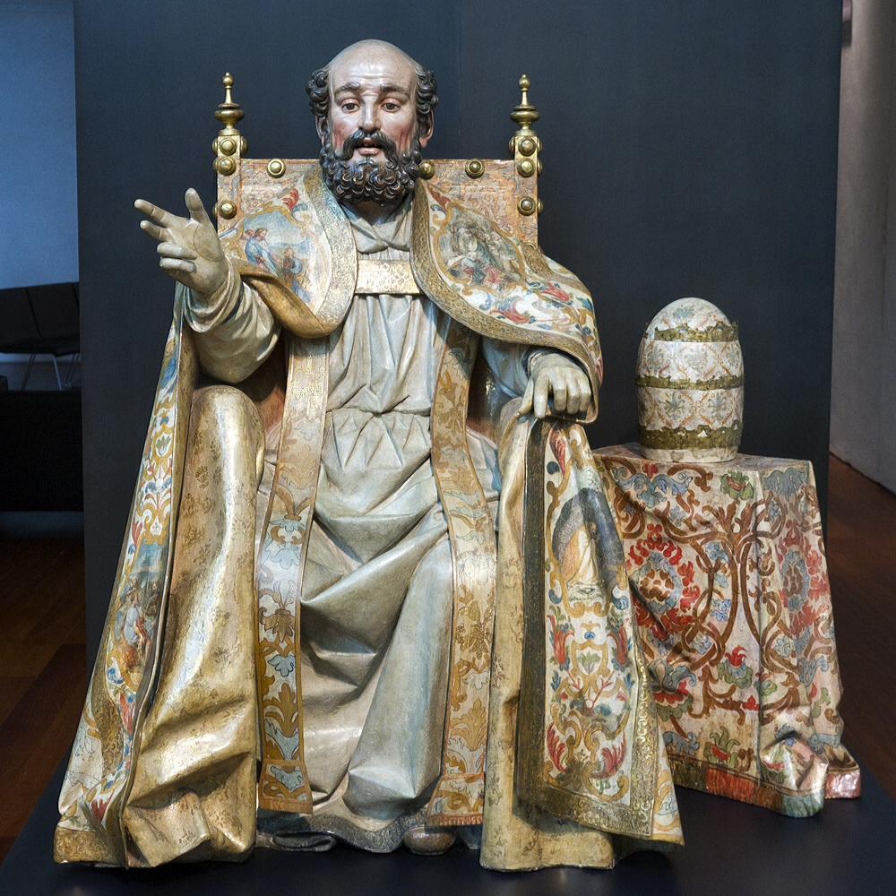 San Pedro sentado en su Cátedra