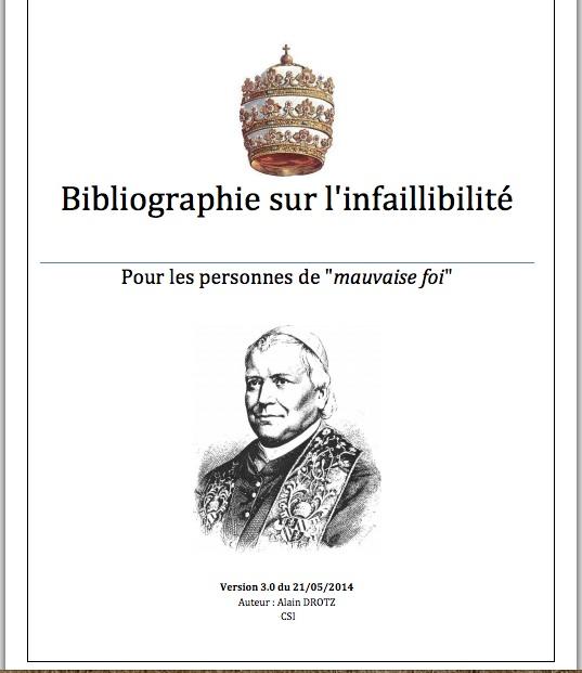 bibliografí-infalibilidad